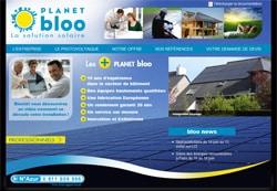 planetbloo2010 Mise en ligne du nouveau site internet de Planet BLOO réalisé pour la société COM4U (spécialiste de la communication).
