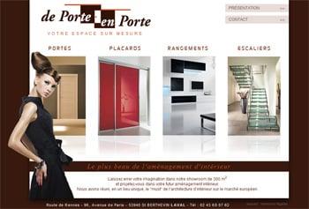 de porte en porte laval De nouveau, l'agence de communication Portobello réalise un très beau site internet.