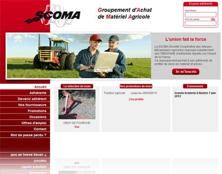 Scoma - Achat de matériel agricole