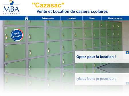 Location casiers scolaires