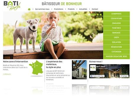 Batisseur en Mayenne