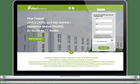 site residence marcel pagnol Pour l'avenir, c'est à LAVAL qu'il faut investir ! Résidence Marcel PAGNOL du Studio au T1 duplex, bien placée entre la gare et le quartier étudiant. 58 logements meublés en Mayenne, un département attractif et rentable !