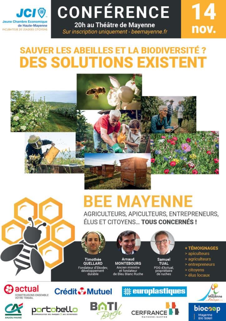 bee mayenne Inscription à la conférence