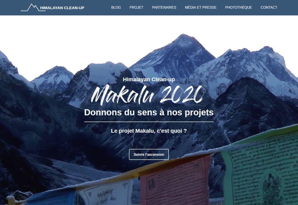himalayan cleanup Dépolluer le 5ème plus haut sommet du monde, le Makalu, en Himalaya.Objectif : collecter entre 3 et 5 tonnes de déchets.