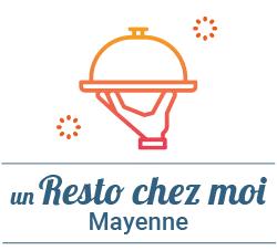 restauchezmoi logo Un Resto chez moi 53 - Les restaurateurs s'invitent pour vos réveillons, à Mayenne et alentours. Vous cherchez un restaurant ou un restaurateur à qui commander votre repas de Noël ou celui du réveillon du nouvel an? Consultez la carte créée par Mayenne Perspective et JCI Haute-Mayenne.